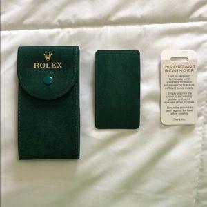 Rolex Authentic Watch Holder